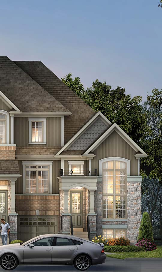 TH4, TRADITIONAL TOWNHOMES, Elevation A
